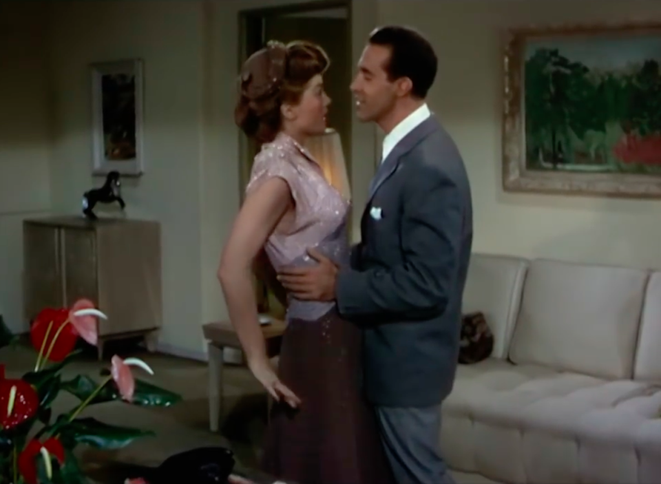 The song originally appeared in the 1940s film Neptune's Daughter [Photo: Youtube]