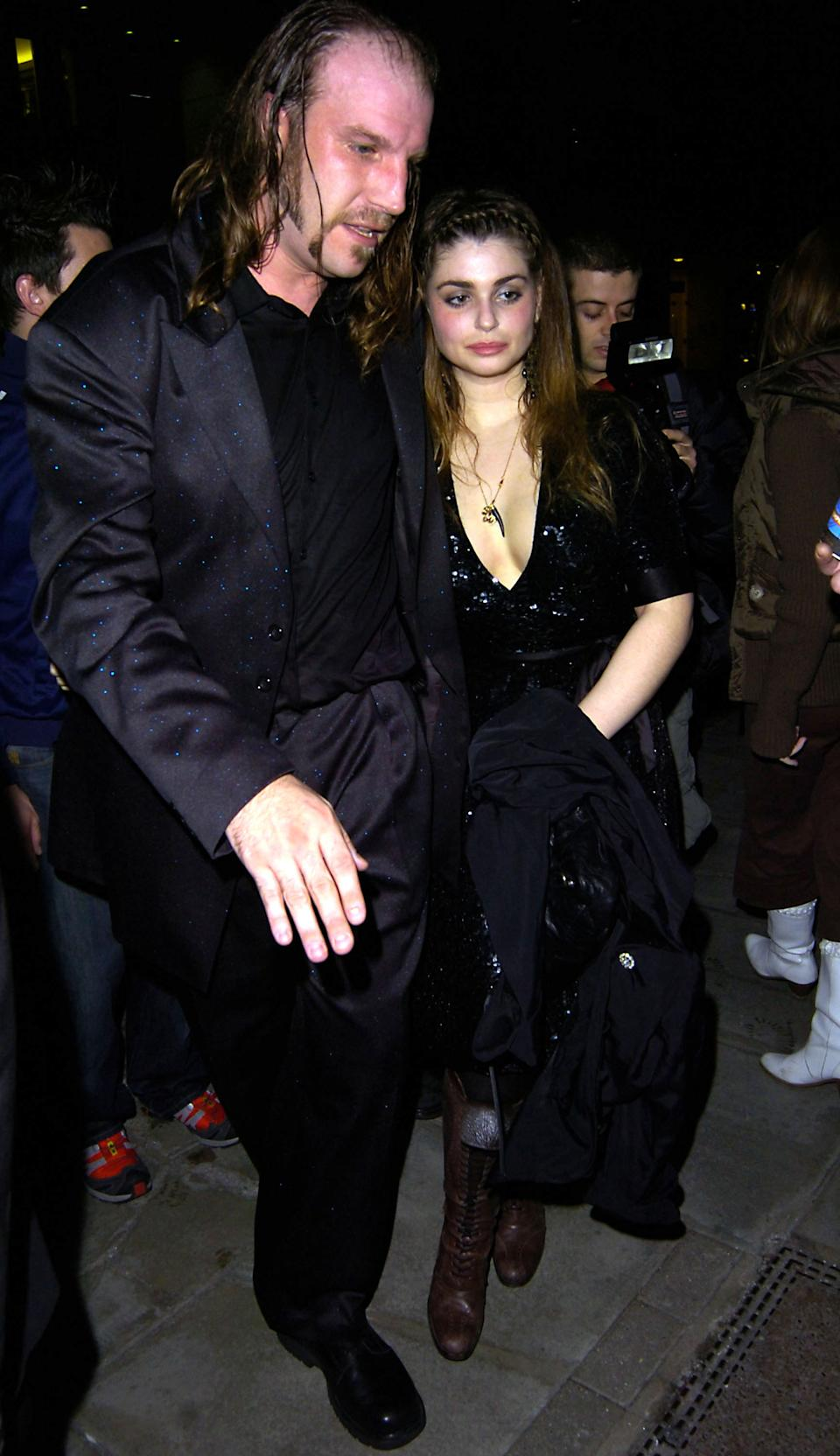 Aimee Osbourne during Celebrity Sightings Outside Kelly Osbourne's Birthday Party at the Sketch Club in London - October 27, 2005 at Sketch Club in London, Great Britain. (Photo by Mu Kei/FilmMagic)