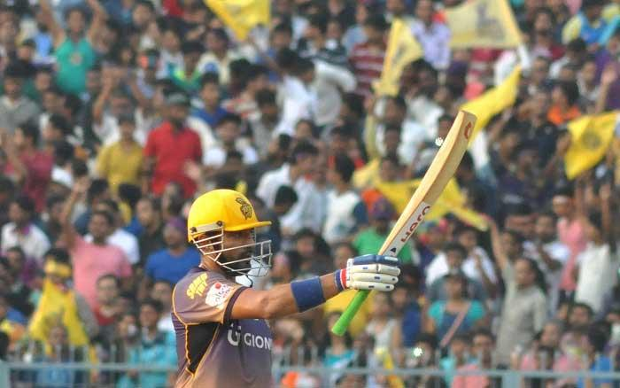 IPL 10: Robin Uthappa's 68 takes Kolkata to 172/6 vs Hyderabad