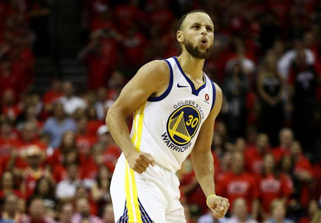 Golden State Warriors star Stephen Curry can take the torch and light a series on fire. (Getty Images)
