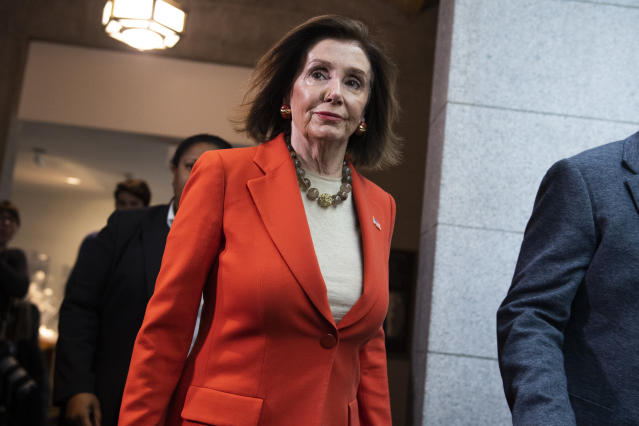 Speaker of the House Nancy Pelosi. (Photo: Tom Williams/CQ Roll Call via Getty Images)