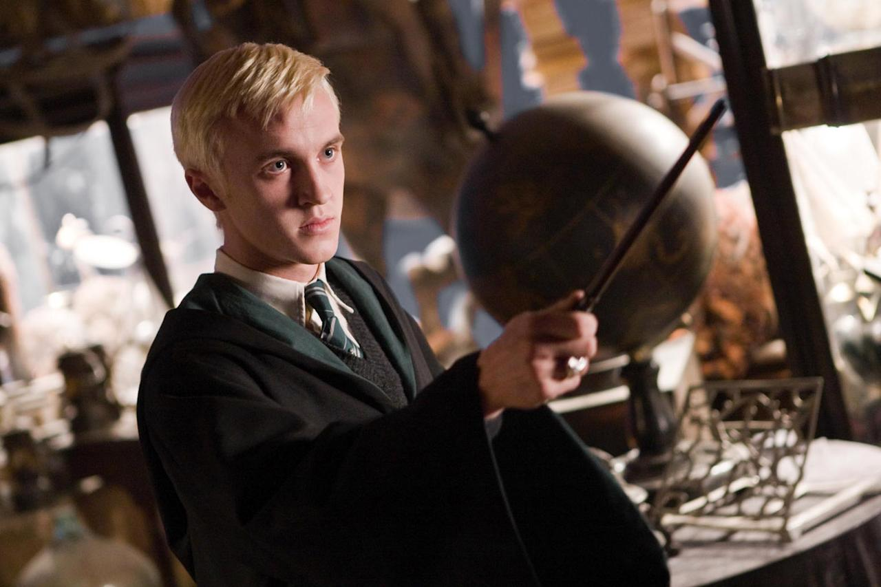 """MOVIE: """"<a href=""""http://movies.yahoo.com/movie/1809791044/info"""">Harry Potter and the Half-Blood Prince</a>"""" (2009)  AGE: 21"""