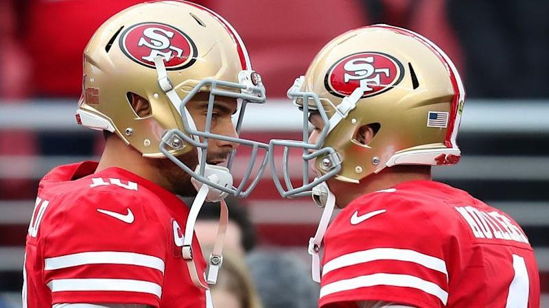 Jimmy Garoppolo out again for 49ers