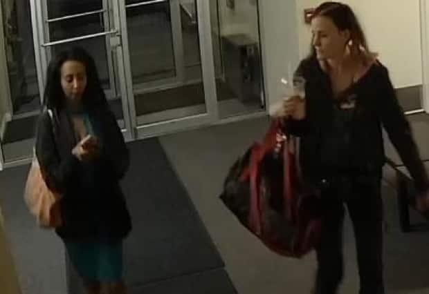 These two women are among the four people that police say entered Mike Labinjo's apartment on the night he died.