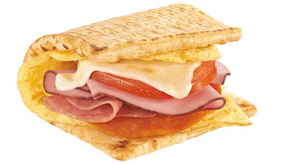 <p>Egg white, ham, salami, spicy pepperoni and melted Monterey Cheddar cheese on 6″ toasted flatbread (no sauces/veggies) contains an astonishing 1,560 mg of sodium. If you opt for a foot-long you'll surpass the recommended daily sodium amount in one sandwich. <br /> — Calories: 490 <br /> — Fat: 21 g (Saturated Fat 7 g) <br /> — Sodium: 1,560 mg <br /> — Carbohydrates: 45 g <br /> — Sugar: 3 g <br /> — Source/Photo: Subway Canada </p>