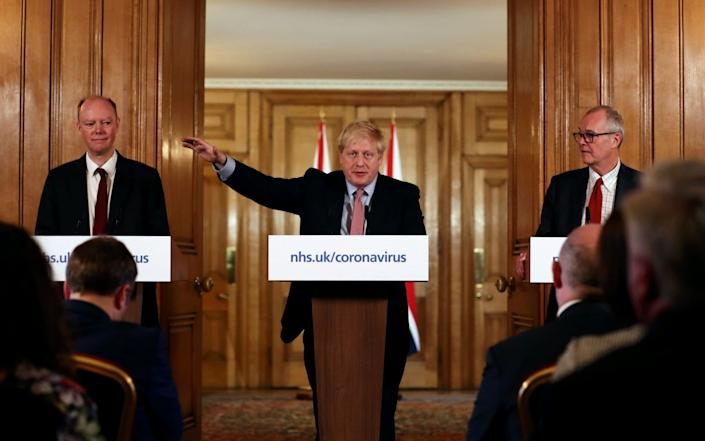 Boris Johnson will not appear at the conference this morning - REUTERS/Simon Dawson/Pool