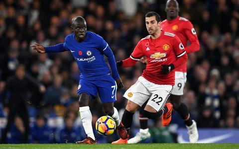 N'Golo Kante in action - Credit: Getty images