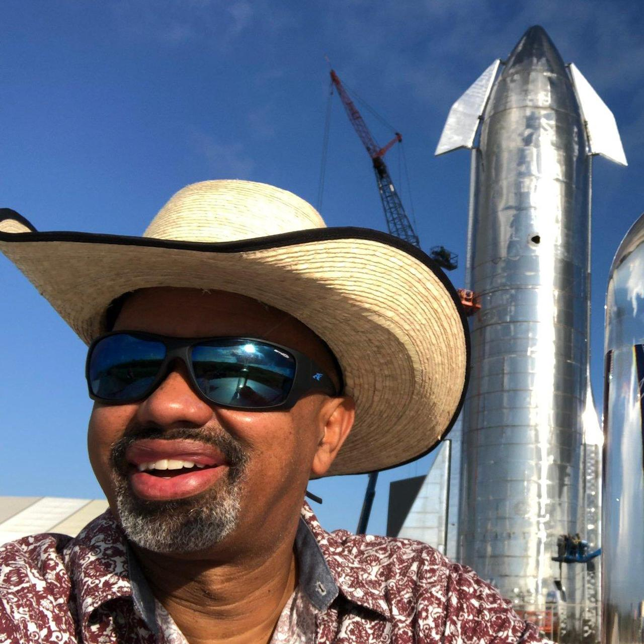 A SpaceX fan who visited Texas to see Elon Musk's Starship event spent the night in jail after taking photos of a rocket prototype built by the company