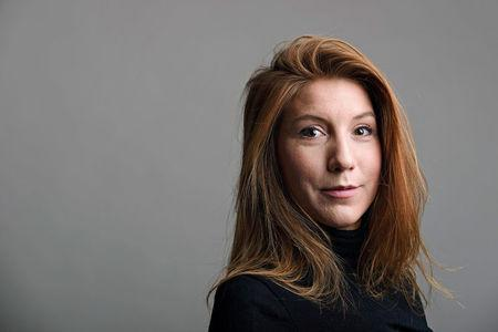 "A photo of Swedish journalist Kim Wall who was aboard a submarine ""UC3 Nautilus"" before it sank. TT NEWS AGENCY/ Tom Wall Handout via REUTERS"