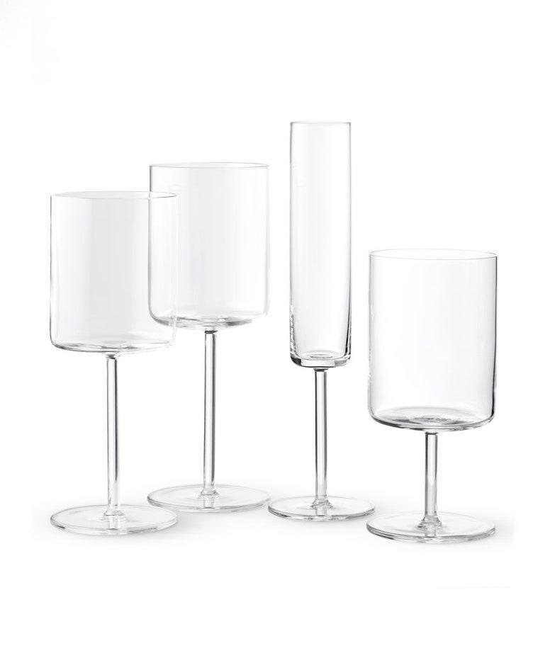 """Wine glasses are classic bridal registry material, so you know you can't go wrong with this kind of gift. The stemware is chip- and scratch-resistant, so it'll survive a number of boozy, stumbling-down-the-living-room nights. $50, West Elm. <a href=""""https://www.westelm.com/products/schott-zwiesel-modo-glassware-set-of-4-d4959/"""" rel=""""nofollow noopener"""" target=""""_blank"""" data-ylk=""""slk:Get it now!"""" class=""""link rapid-noclick-resp"""">Get it now!</a>"""