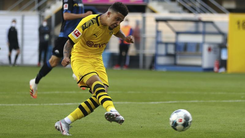 Jadon Sancho fined for breaching coronavirus restrictions after home haircut