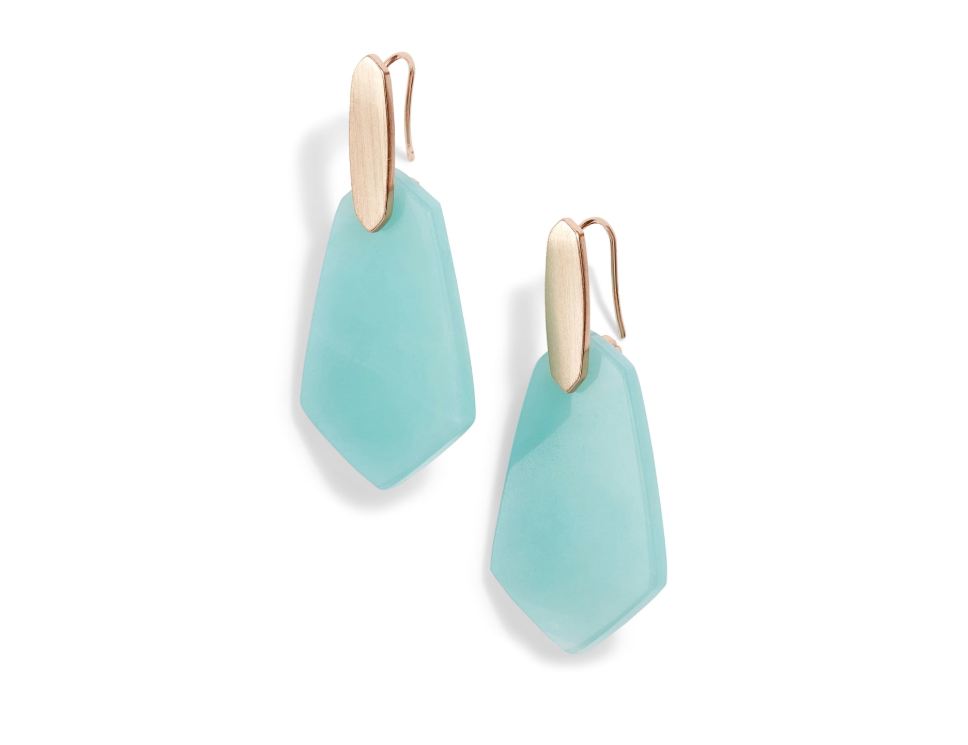 "<p><strong>Kendra Scott</strong></p><p>nordstrom.com</p><p><strong>$44.98</strong></p><p><a href=""https://shop.nordstrom.com/s/kendra-scott-camila-drop-earrings/5160601"" target=""_blank"">SHOP NOW</a></p><p>For the mom who's always looking for a little pop of color, these statement earrings come in five beautiful shades. Perfect for a touch of glam at school drop-off or date night.</p>"