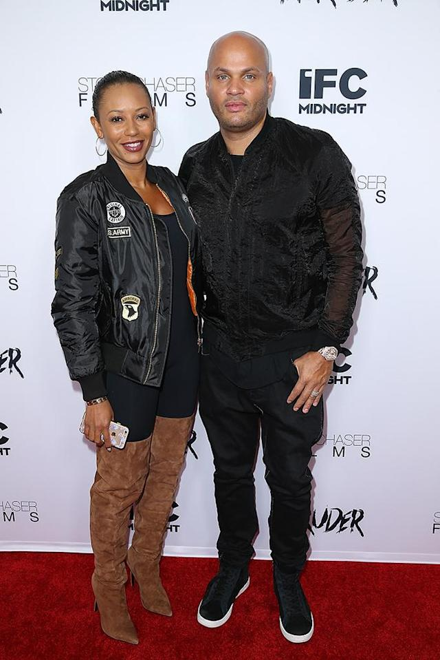 """<p>In a divorce alleging abuse, forced threesomes, and sex tapes, Mel B and Belafonte's separation seemed like <a href=""""http://www.tmz.com/2017/11/27/mel-b-stephen-belafonte-strike-settlement-deal-sex-tapes/"""" rel=""""nofollow noopener"""" target=""""_blank"""" data-ylk=""""slk:something out of a movie"""" class=""""link rapid-noclick-resp"""">something out of a movie</a>. The former Spice Girl and <em>America's Got Talent </em>judge alleged her husband was abusive after their marriage in 2007, but in November the two settled the domestic violence portion of the case. This month, it was reported that their less than amicable divorce was final. (Photo: Phillip Faraone/Getty Images) </p>"""