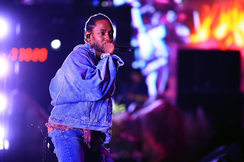 Nominee: Lamar received eight nominations (Getty Images for Coachella)