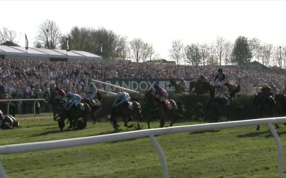 first fence - Credit: ITV