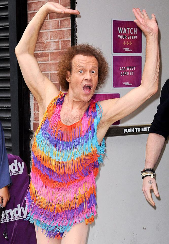 Richard Simmons turns 64 on July 12.