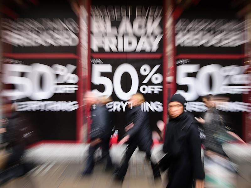 In recent years Black Friday sales have taken off: Getty