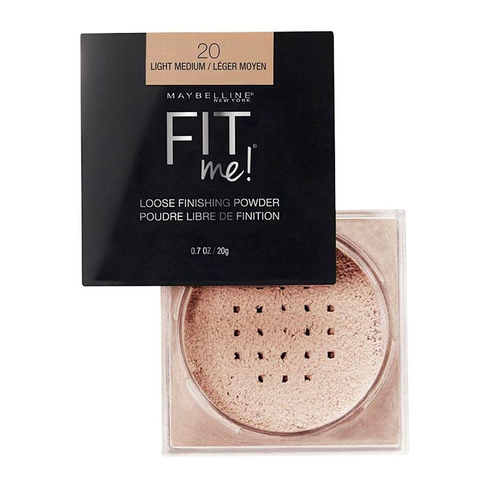 """I've got super oily—but dehydrated—skin, so I'm constantly dealing with a complexion that somehow looks greasy and dry at the same time. This is the only drugstore powder that manages to put both issues to rest. I've found the trick is to press it in with a makeup puff (instead of swirling it on with a brush), which leaves behind a blurred, your-skin-but-better finish that looks flawless both in real life and photos. <em>—L.S.</em> $5, Amazon. <a href=""""https://www.amazon.com/dp/B06XDXBH5X/ref=twister_B06XJ5XSL1?"""">Get it now!</a>"""