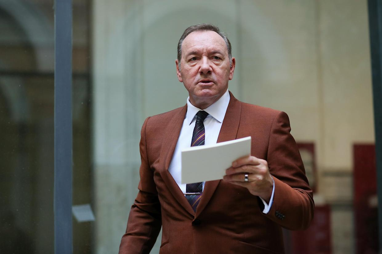 Actor Kevin Spacey, 61, is reportedly returning to acting for a role in director Franco Nero's upcoming film. (Photo: Ernesto Ruscio/Getty Images)