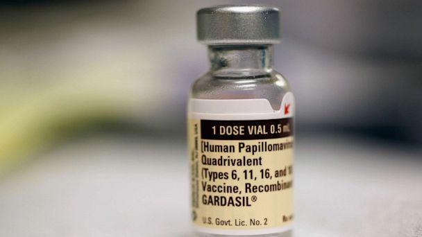 PHOTO: A vial of the Human Papillomavirus vaccine is seen at the University of Miami Miller School of Medicine on Sept. 21, 2011, in Miami. (Joe Raedle/Getty Images)
