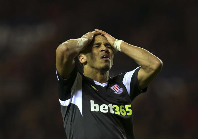 Peter Odemwingie was famously left embarrassed after some deadline day madness several years ago (AP Photo/Scott Heppell)