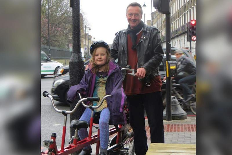 """A family reunited with """"London's longest bike"""""""