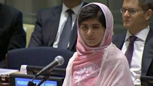 Malala Yousafzai on Friday said she has forgiven her attackers, but the attempt on her life will not stop her campaign of promoting global education.