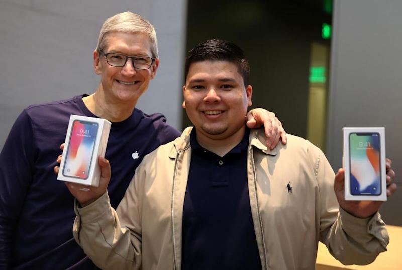 apple iPhone x cancelled sales