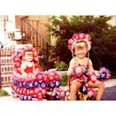 """<p>Kelly Ripa has beeng getting festive for the Fourth for many years. """"Happy Fourth of July!!!! May your trike match your wagon and your hat match your bathing suit. Circa 1974. #fourthofjuly,"""" she posted. (Photo: <a rel=""""nofollow noopener"""" href=""""https://www.instagram.com/p/BWICzzIj2nZ/"""" target=""""_blank"""" data-ylk=""""slk:Kelly Ripa via Instagram"""" class=""""link rapid-noclick-resp"""">Kelly Ripa via Instagram</a>)<br><br></p>"""