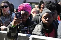 <p>Galvanized by a massacre at a Florida high school, hundreds of thousands of Americans took to the streets in cities across the United States on Saturday in the biggest protest for gun control in a generation. (Photo: Getty Images) </p>