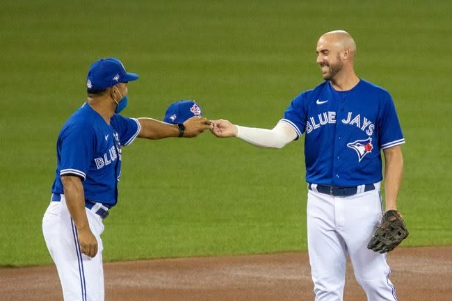 "Blue Jays Travis Shaw offers mea culpa on COVID-19 tweets, says they were ""tone-deaf"""
