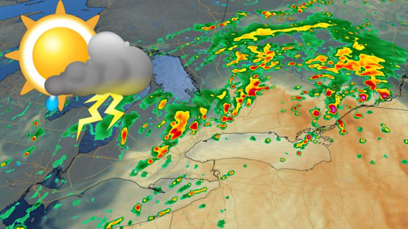 Pleasant start to Ontario's long weekend, but strong storms ahead