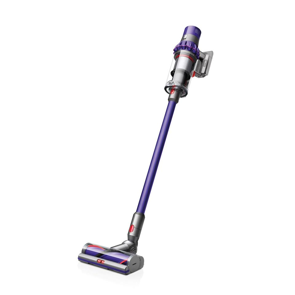 """<h2>Dyson</h2><br>Dyson's bestselling cordless vacuums and classic rollerballs are up to 20% off at Amazon.<br><br><em>Shop</em> <strong><a href=""""https://amzn.to/3xnJj5F"""" rel=""""nofollow noopener"""" target=""""_blank"""" data-ylk=""""slk:Dyson"""" class=""""link rapid-noclick-resp""""><em>Dyson</em></a></strong><br><br><strong>Dyson</strong> Cyclone V10 Animal Lightweight Cordless Stick Vacuum, $, available at <a href=""""https://amzn.to/2TwHipl"""" rel=""""nofollow noopener"""" target=""""_blank"""" data-ylk=""""slk:Amazon"""" class=""""link rapid-noclick-resp"""">Amazon</a>"""
