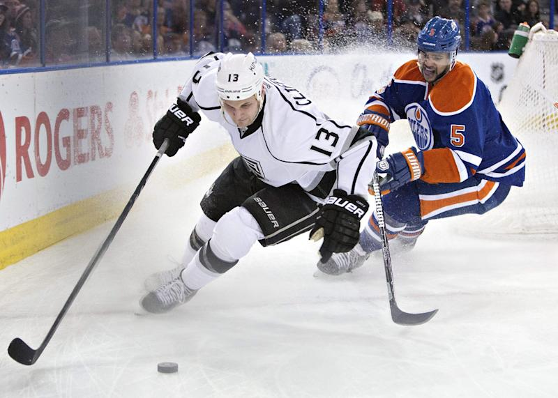 Gaborik scores 2 as Kings beat Oilers 3-0
