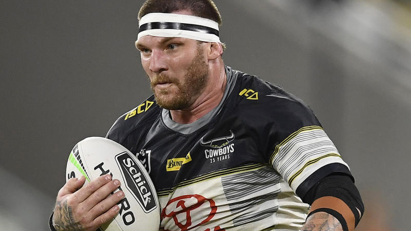 North Queensland's Josh McGuire is facing a serious charge from the NRL Judiciary. (Photo by Ian Hitchcock/Getty Images)