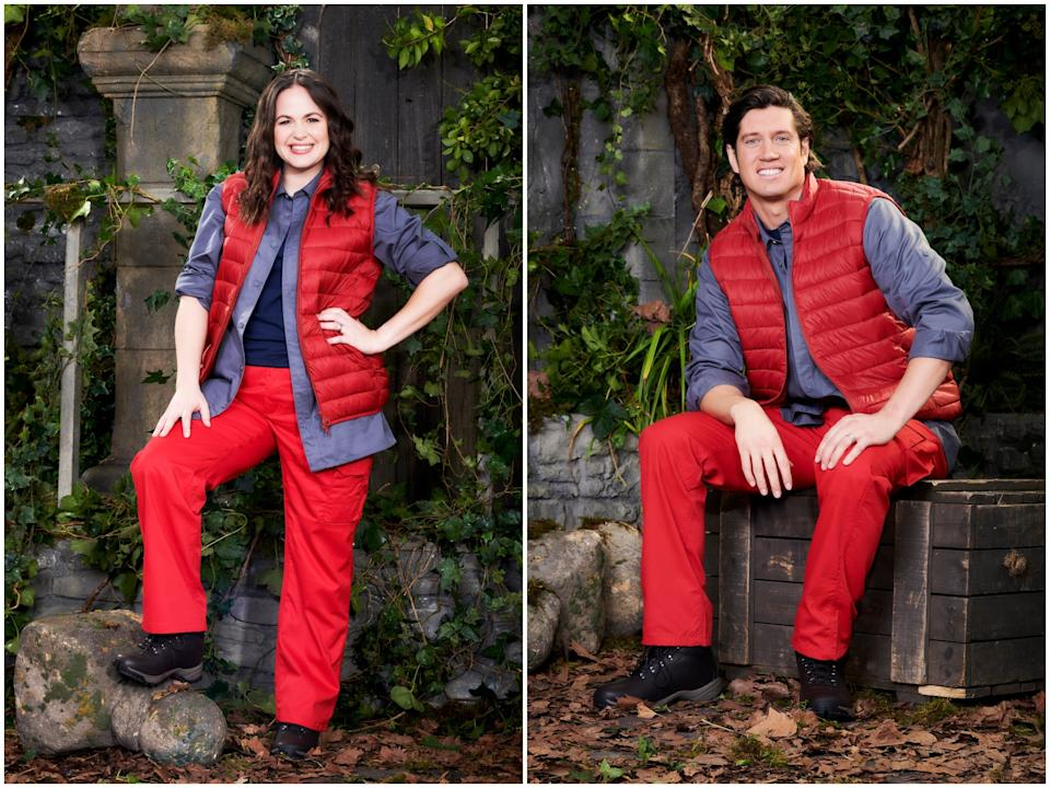 <p>Giovanna Fletcher and Vernon Kay</p>ITV