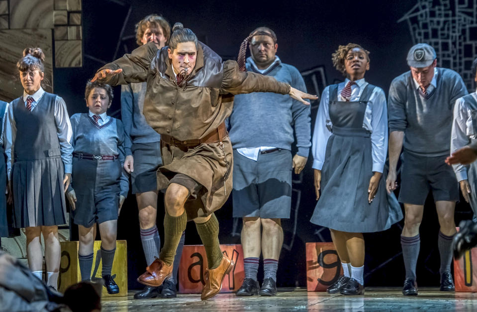 The lovable Miss Trunchbull. (PHOTO: Base Entertainment)