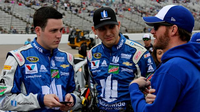 "Dale Earnhardt Jr. says putting Alex Bowman in the No. 88 Hendrick Motorsports Chevrolet next season would be ""pretty awesome."""