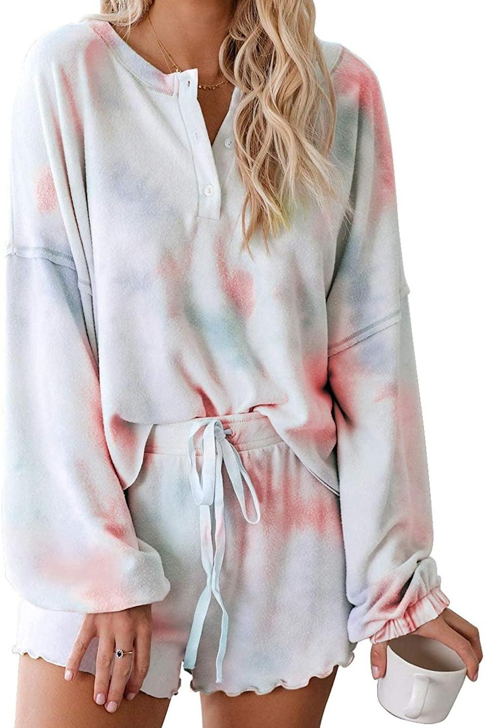 <p><span>Asvivid Tie-Dye Lounge Set</span> ($24, originally $32)</p>