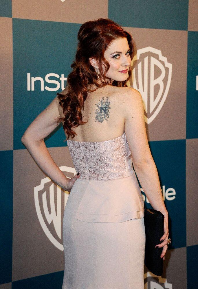 Actress Alexandra Breckenridge arrives at 13th Annual Warner Bros. And InStyle Golden Globe Awards After Party at The Beverly Hilton hotel on January 15, 2012 in Beverly Hills, California. (Kevork Djansezian, Getty Images)
