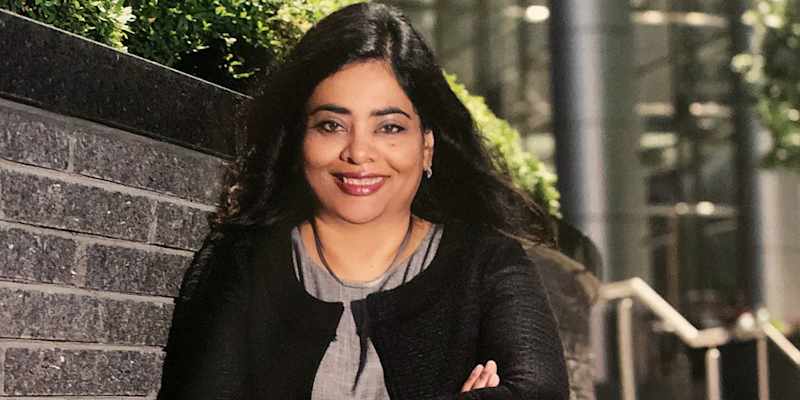 55) Pallavi Verma, senior managing director, responsible for North America Quality & Risk and Accenture's Boston Office managing director, Accenture. Photo: Accenture