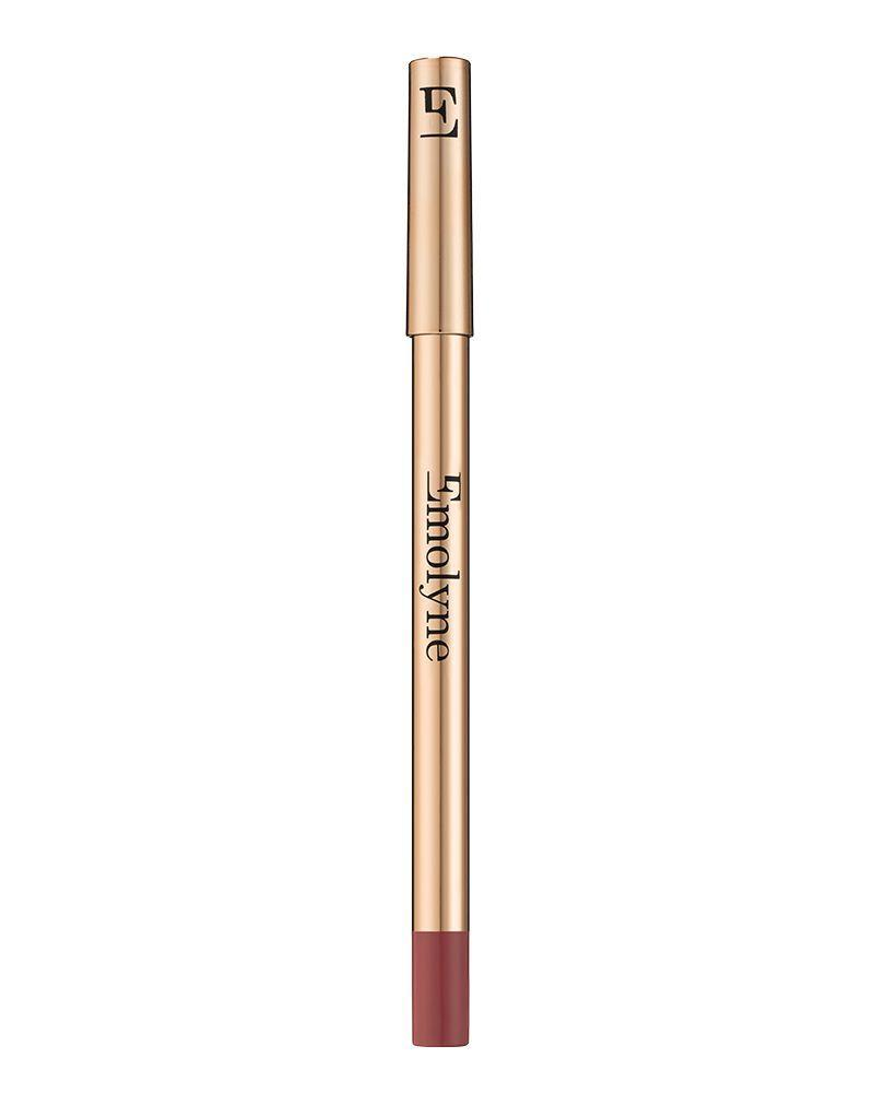 """<p><a class=""""link rapid-noclick-resp"""" href=""""https://www.emolyne.com/product/metamorphosis-velvet-long-wear-lip-definer/"""" rel=""""nofollow noopener"""" target=""""_blank"""" data-ylk=""""slk:SHOP NOW"""">SHOP NOW</a></p><p>Replicate the carved-out liner by going at least two shades darker than your lipstick. <a href=""""https://www.emolyne.com/product/metamorphosis-velvet-long-wear-lip-definer/"""" rel=""""nofollow noopener"""" target=""""_blank"""" data-ylk=""""slk:Emolyne Metamorphosis Velvet Long-Wear Lip Definer in Luxor - £13"""" class=""""link rapid-noclick-resp"""">Emolyne Metamorphosis Velvet Long-Wear Lip Definer in Luxor - £13</a>, glides on lips and won't fade, however much you zig-a-zig-ah. </p>"""