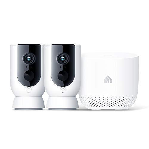 Kasa Home Security Camera System Wireless Outdoor & Indoor Camera by TP-Link, 1080P HD with Sir…