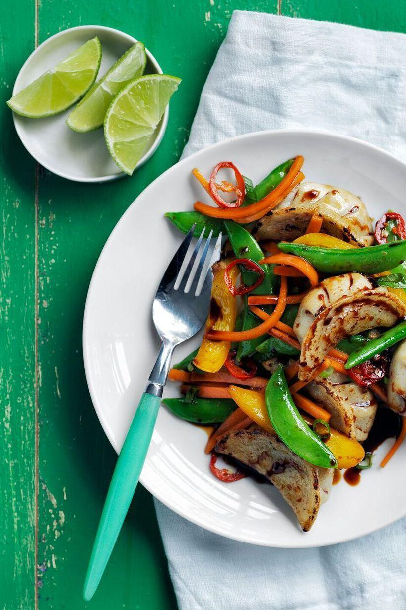 "<p>This tasty meatless main makes it easy to get your fix of veggies, and it's low-sodium and cholesterol-free.</p><p><a href=""https://www.womansday.com/food-recipes/food-drinks/recipes/a55780/potsticker-stir-fry-recipe/"" rel=""nofollow noopener"" target=""_blank"" data-ylk=""slk:Get the Potsticker Stir-Fry recipe."" class=""link rapid-noclick-resp""><em><strong>Get the Potsticker Stir-Fry recipe.</strong></em></a></p><p><strong><a class=""link rapid-noclick-resp"" href=""https://www.amazon.com/MICHELANGELO-Nonstick-Frying-Basket-Ceramic/dp/B074T5GSD4/?tag=syn-yahoo-20&ascsubtag=%5Bartid%7C10070.g.2176%5Bsrc%7Cyahoo-us"" rel=""nofollow noopener"" target=""_blank"" data-ylk=""slk:SHOP STIR FRY PANS"">SHOP STIR FRY PANS</a></strong></p>"
