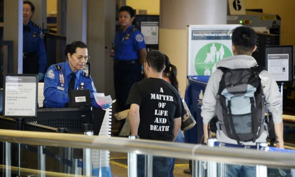 Travelers Use Los Angeles International Airport Day After Shooting Killed One TSA Agent
