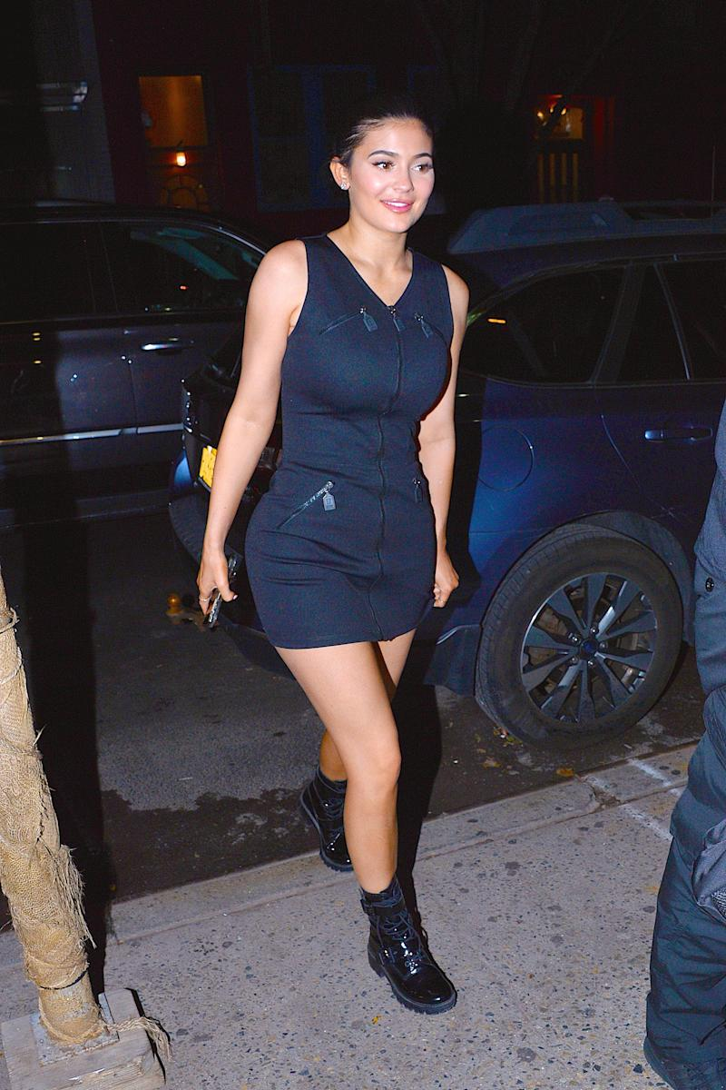 Kylie Jenner seen out and about in Manhattan on July 18, 2018 in New York City. Photo courtesy of Getty Images.
