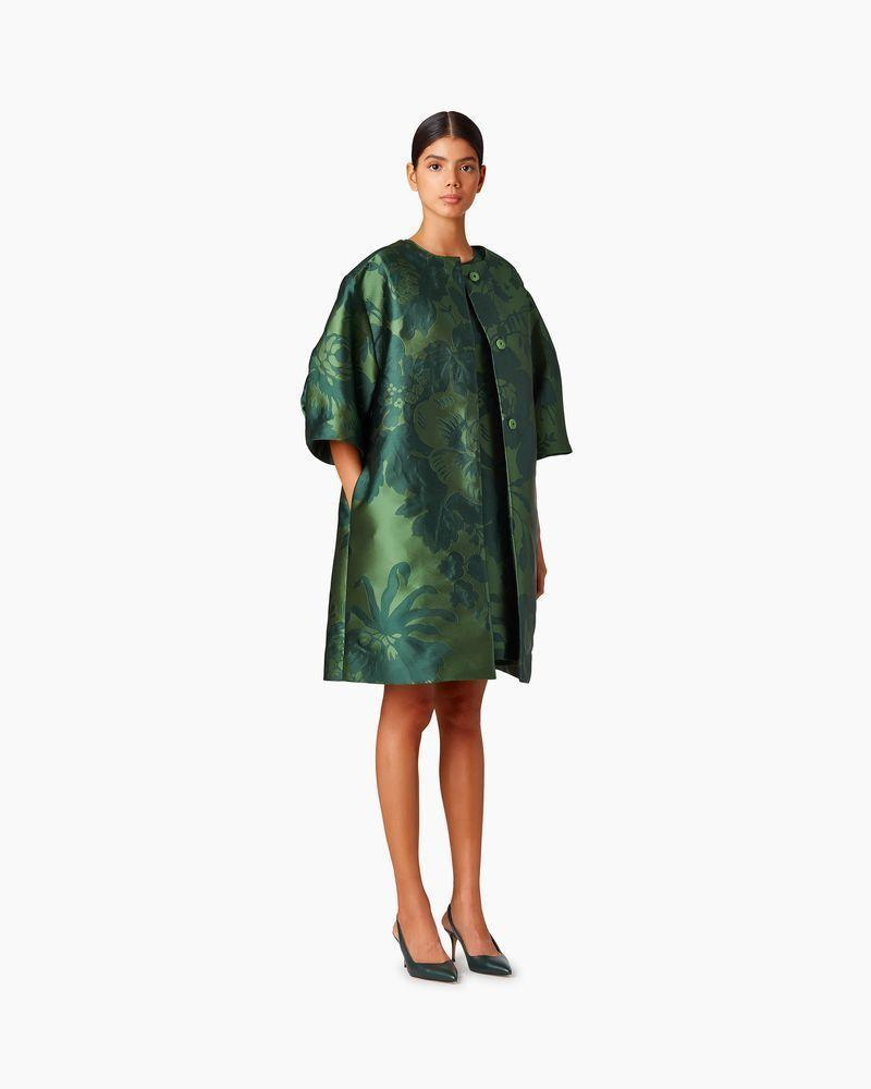 "<p><strong>Carolina Herrera</strong></p><p>carolinaherrera.com</p><p><strong>$2790.00</strong></p><p><a href=""https://www.carolinaherrera.com/us/en/p-ready-to-wear/collarless-floral-jacquard-coat/?sku=195095033320"" rel=""nofollow noopener"" target=""_blank"" data-ylk=""slk:Shop Now"" class=""link rapid-noclick-resp"">Shop Now</a></p>"