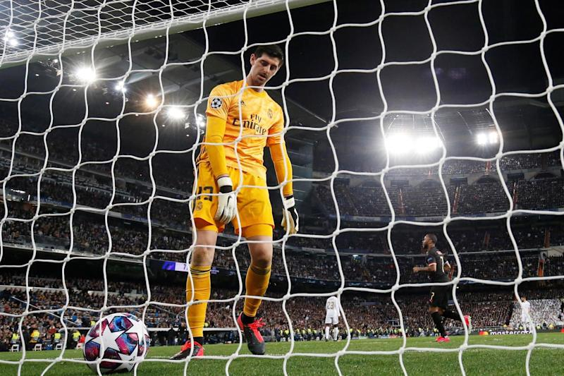 Real Madrid threw away a one-goal lead against Manchester City in the Champions League (REUTERS)