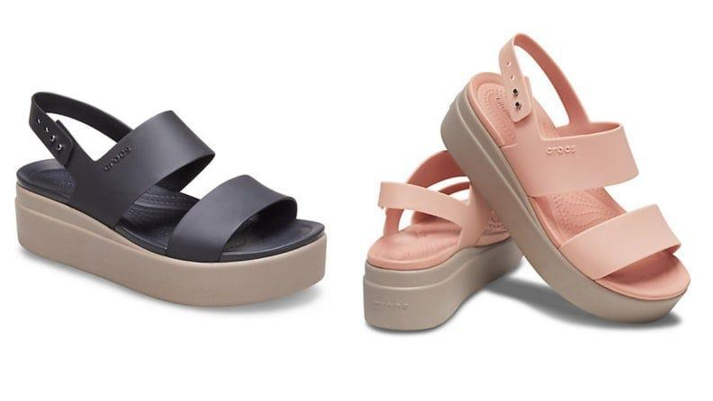 Crocs now come in more shapes than the classic clog.