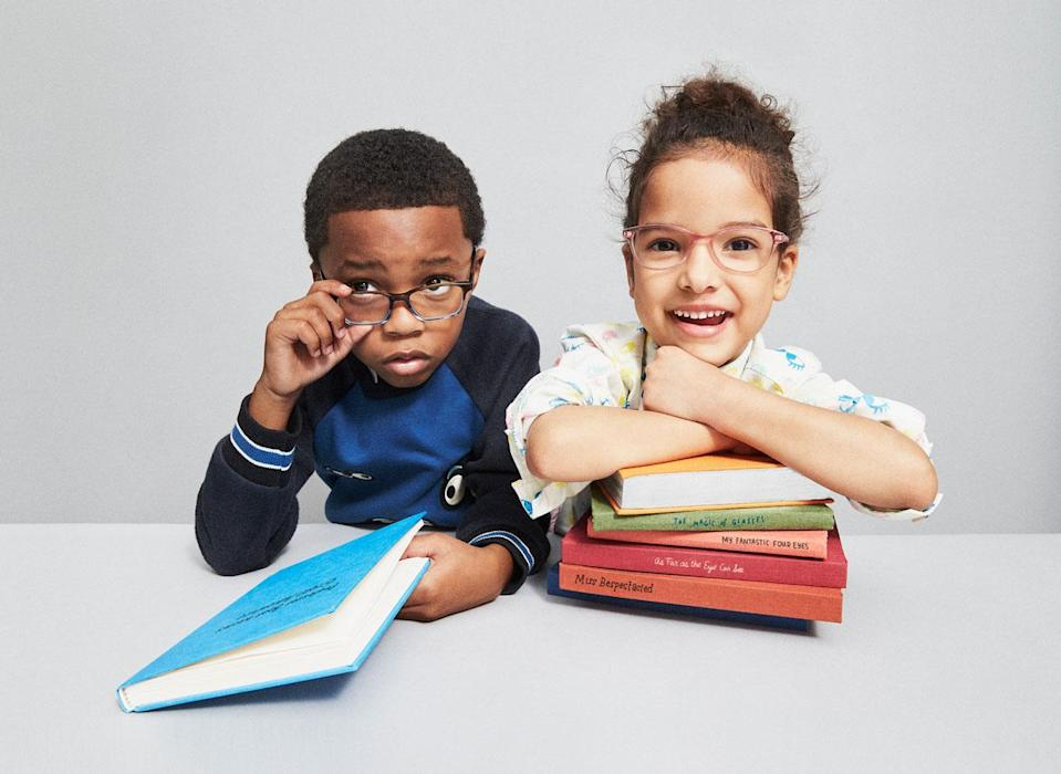 Warby Parker for kids launches on Jan. 30. (Photo: Courtesy of Warby Parker)